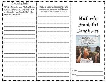 Mufaro's Beautiful Daughters Interactive Brochure