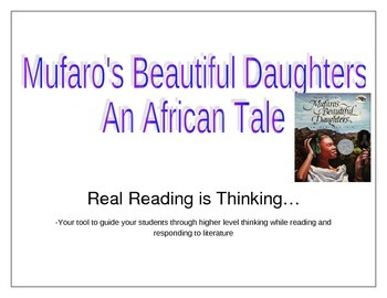 Mufaro's Beautiful Daughter's Lesson Plan Determining Theme
