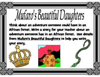 Mufaro's Beautiful Daughters Text Based Narrative Writing Prompt