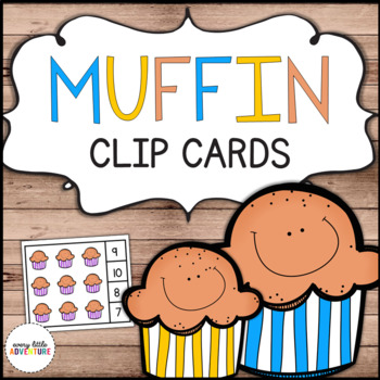 Muffin Count & Clip Card