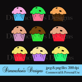 Muffin Madness Clipart