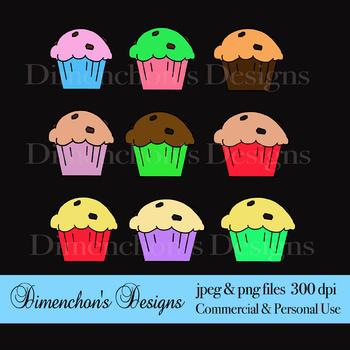 Muffin Madness Clipart