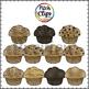 Muffin Man Clipart (Clip Art) - (Muffins, Cart, Background)