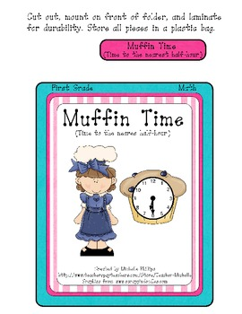 Muffin Time! - Time - File Folder Game