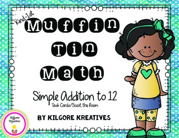 Muffin Tin Math (Simple Addition to 12)