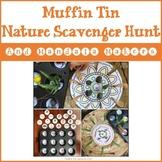 Muffin Tin Nature Scavenger Hunt and Mandala Makers