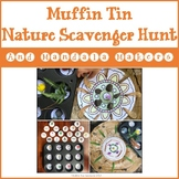 Muffin Tin Nature Scavenger Hunt and Mandala Makers
