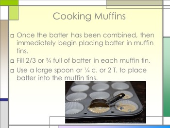 Muffins 101 Power Point