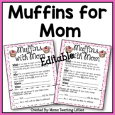 Muffins with Mom Editable