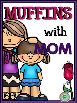 Muffins with Mom- Activity Pack