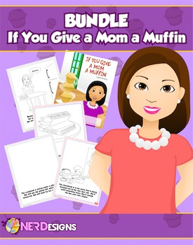 Muffins with Mom- Mother's Day Book Project: If You Give a Mom a Muffin