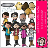 Muffins with Mom clip art - COMBO PACK- by Melonheadz