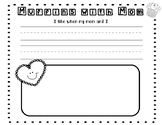 Muffins with Mom or Dads with Donuts Writing Activity