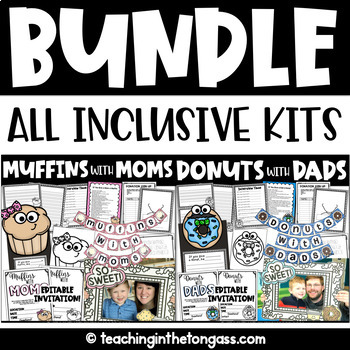 Fathers teaching resources teachers pay teachers muffins with moms and donuts with dads bundle mothers day fathers day fandeluxe Gallery