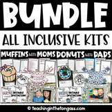 Muffins with Moms and Donuts with Dads BUNDLE | BONUS Pastries with Parents
