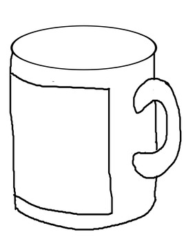 Mug Activity letter M