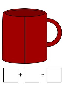 Mug Addition Freebie! K.OA.A.1,2,3,5