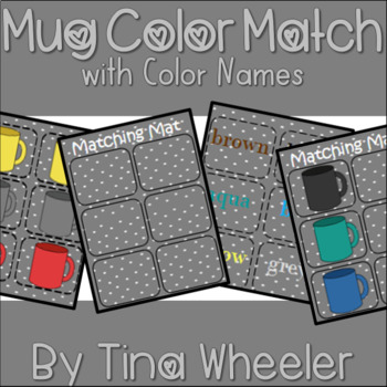 Mug Color Match with Color Names