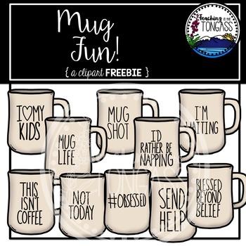 Mug Fun Clipart Free