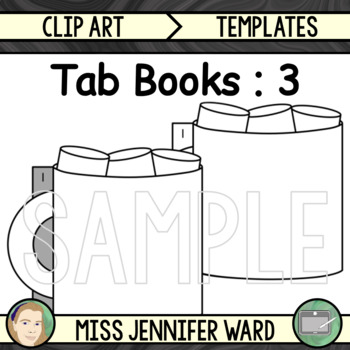 3 Tabs : Book Clipart Set : Mug with Marshmallows