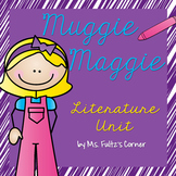 Muggie Maggie (Beverly Cleary) Literature Unit/Book Club