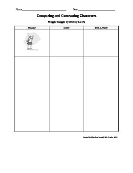 Muggie Maggie Compare and Contrast Essay Tools