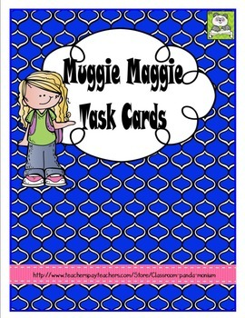 Muggie Maggie Task Cards (CC Aligned)