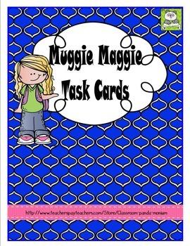 Muggie Maggie Task Cards (CC Aligned)