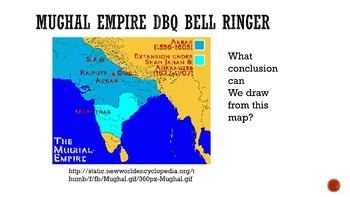 Mughal Empire DBQ Bell Ringers
