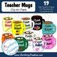 Mugs, Mugs, Mugs Clip Art Pack