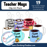 Mugs, Mugs, Mugs Clip Art Pack