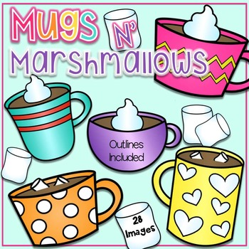 Mugs N' Marshmallows Clipart