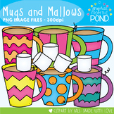 Mugs and Marshmallows Clipart