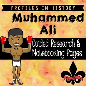 Muhammad Ali Guided Research Activity
