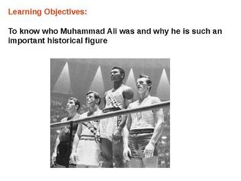 Muhammad Ali Story and Quiz