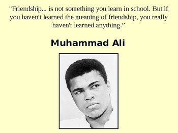 Muhammad Ali Story and Quiz