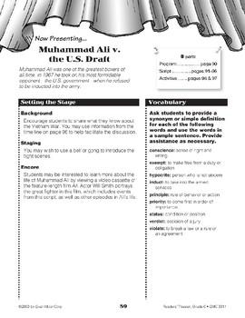 Muhammad Ali v. the U.S. Draft