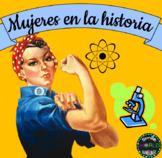 Mujeres en la historia Coeducación Día de la Mujer Español