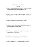 Mulan Cultural Movie Questions