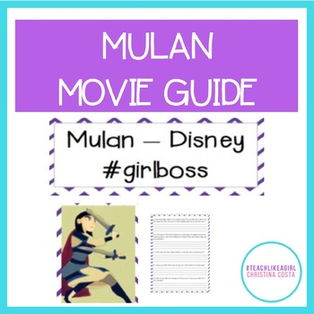 Mulan Movie Guide: Teaching Gender Roles Through The Disne