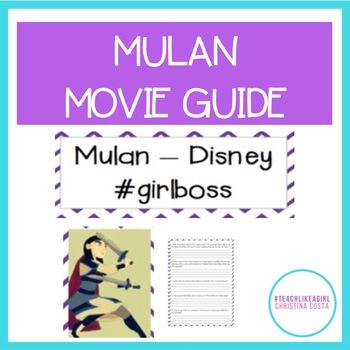 Mulan Movie Guide: Teaching Gender Roles Through The Disney Supergirl!