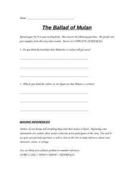 Mulan Resource Packet