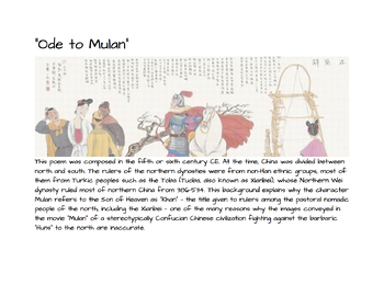 Mulan Through the Ages