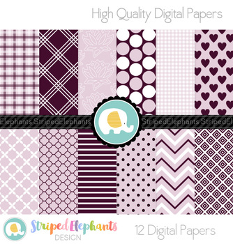 Mulberry and Musk Digital Papers