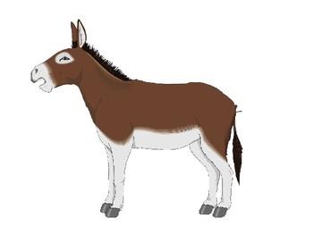 Mules Clip Art Pack