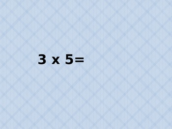 Mulitipliation Facts for Speed Twos and Threes