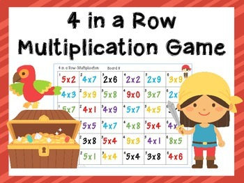 Multiplication Game 4 in a Row