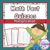 Mulitiplication Timed Quizzes