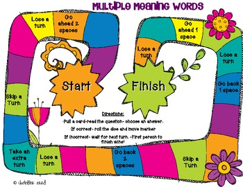 Mulitple Meaning Words Game