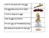 Mulitple Meaning Words Sentence and Picture Match Common Core